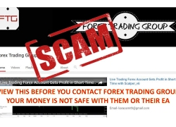 Forex Trading Group – SCAM – Watch their EA lose $10k in less than 3 mins