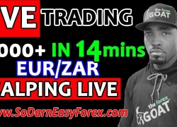 (LIVE TRADING) $2000 IN 14 Mins SCALPING LIVE – So Darn Easy Forex™