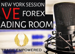 NY Live Trading Room – Forex Trading Using HTF & LTF