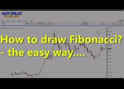 How To Draw Fibonacci In Easy Way! ✫Forex Trading