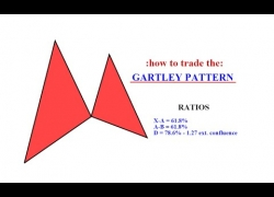 Forex Trading – Gartley pattern tutorial ( live trading example )