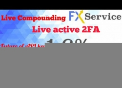 fxtrade.services @ Live forex trading, compounding & 2FA activation.